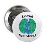 United We Stand on Earth Button