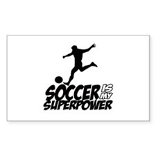 soccer is my superpower Decal