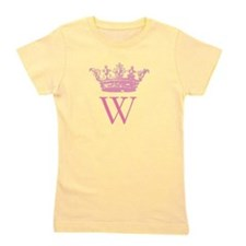 Vintage Crown Monogram Girl's Tee