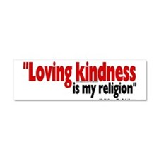 Unique Kindness Car Magnet 10 x 3