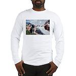 CREATION / Black Lab (#2) Long Sleeve T-Shirt