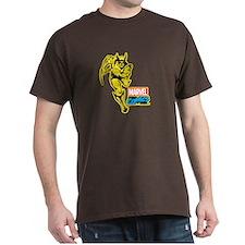 Yellow Wolverine T-Shirt