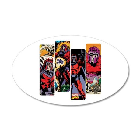 Magneto X-Men 35x21 Oval Wall Decal