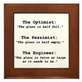 Optimism Framed Tile
