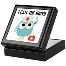 Owl Nurse Keepsake Box