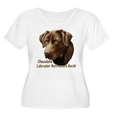 Chocolate Labs Rock T-Shirt