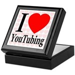 I Love YouTubing Keepsake Box