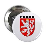 "Praha, Czech Republic 2.25"" Button (100 pack)"