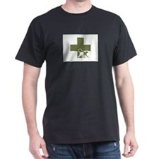 Engeye Ash Grey T-Shirt, Logo front and back T-Shi