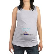 Come Out? No Way! Maternity Tank Top