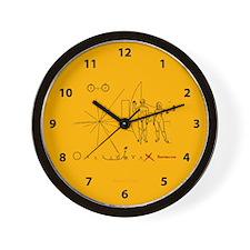 Pioneer Plaque V3 Wall Clock