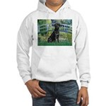 Bridge & Black Lab Hooded Sweatshirt