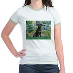 Bridge & Black Lab Jr. Ringer T-Shirt
