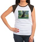 Bridge & Black Lab Women's Cap Sleeve T-Shirt
