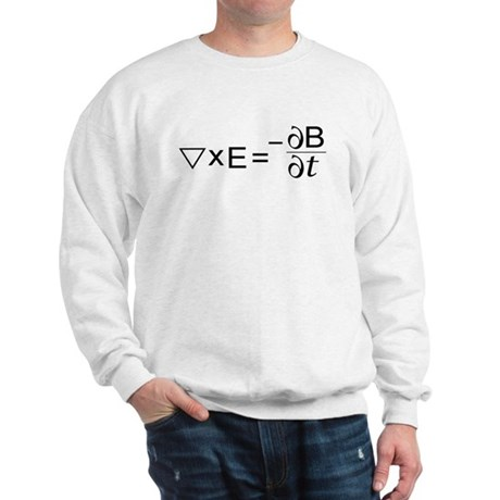 Faraday's Law of Induction Sweatshirt