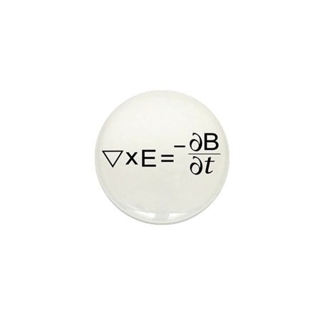 Faraday's Law of Induction Mini Button