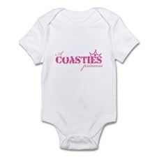 A Coastie's Princess Infant Bodysuit
