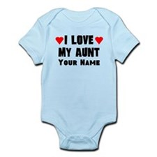 I Love My Aunt (Custom) Body Suit