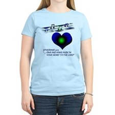 "Eph 5:19 ""Sing & Make Music"" ~ T-Shirt"