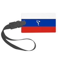 Team Figure Skating Russia Luggage Tag