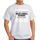 Proud National Guard Dad  T-Shirt