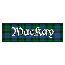 Tartan - MacKay Bumper Sticker