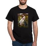 Windflowers & Black Lab Dark T-Shirt