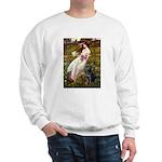 Windflowers & Black Lab Sweatshirt