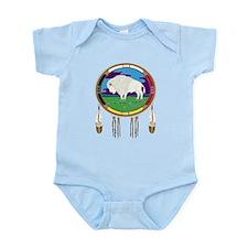 White Buffalo Infant Bodysuit