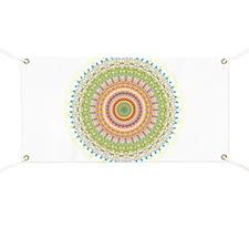 Bright Blessings Mandala Banner