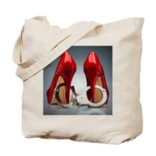 HEELS AND HANDCUFFS Tote Bag