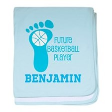 Future Basketball Player Personalized baby blanket