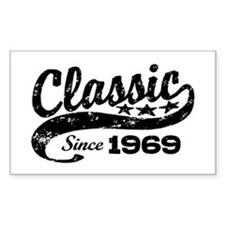 Classic Since 1969 Decal