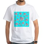 Patriotic Hearts Galore White T-Shirt