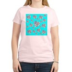 Patriotic Hearts Galore Women's Light T-Shirt