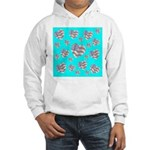 Patriotic Hearts Galore Hooded Sweatshirt