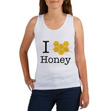 I Love Honey Tank Top