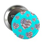 Patriotic Hearts Galore Button