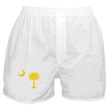 Palmetto and Crescent SC Boxer Shorts