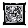 Chinese Dragon & Phoenix Symb Throw Pillow