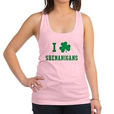 I Shamrock Shenanigans Racerback Tank Top