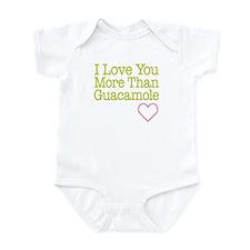 Love You Guacamole Infant Bodysuit