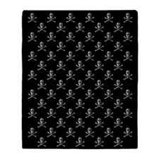 Jolly Roger Skull Pattern Blanket