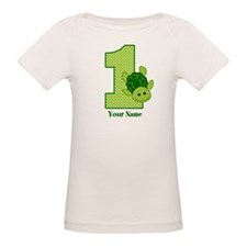 Personalized Turtle 1st Birthday Tee