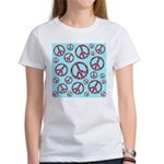 Peace Symbols Galore Women's T-Shirt