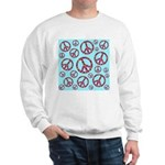 Peace Symbols Galore Sweatshirt