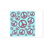 Peace Symbols Galore Postcards (Package of 8)
