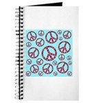 Peace Symbols Galore Journal
