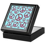 Peace Symbols Galore Keepsake Box