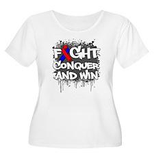 Pulmonary Fibrosis Fight T-Shirt